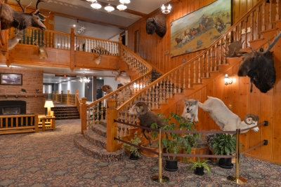 Stage Coach Lobby - West Yellowstone