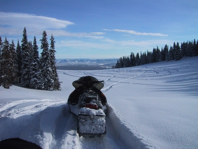Snowmobile Yellowstone